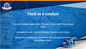 Food as a catalyst